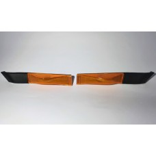 """Front Side """"Toblerone"""" Repeater Indicator Amber JDM PAIR - Genuine Toyota - SW20 - NEW"""