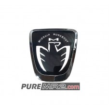 Midship Runabout Bird Badge Emblem BLACK - Genuine Toyota - ZZW30, SW20, AW11- NEW
