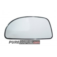 Side Mirror Glass Passenger or Drivers Side - Genuine Toyota - SW20 - NEW