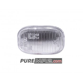 Front Guard / Fender Side Repeater CLEAR Upgrade WITHOUT Bulb & Holder - Genuine Toyota - SW20 - NEW